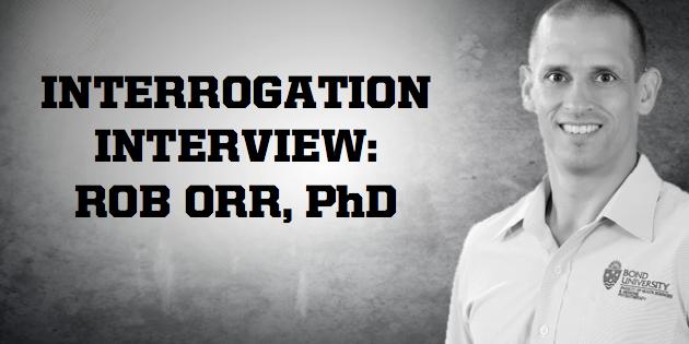 Rob Orr Interrogation Interview