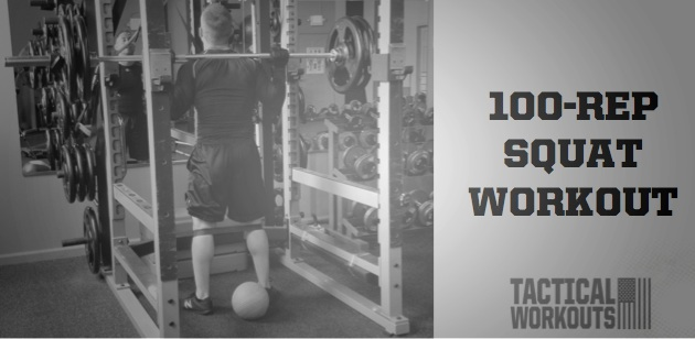 100-Rep Squat Workout