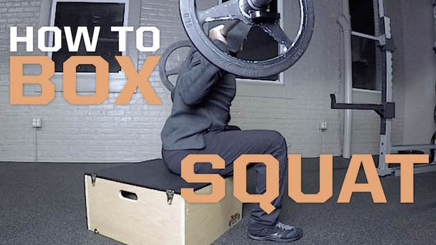 How to Box Squat
